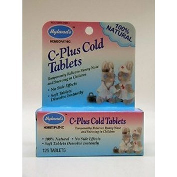 Hylands Homeopathic Hyland's - C Plus Cold Tablets Childrens, 125 tablets