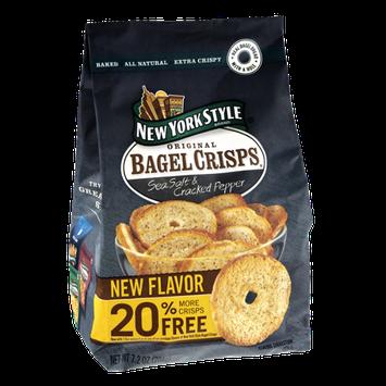 New York Style Sea Salt & Cracked Pepper Original Bagel Crisps