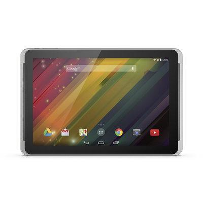 Hewlett Packard Hp 10 Plus 2201us 16GB Tablet - 10.1 - Wireless Lan - Allwinner Cortex A7 1 Ghz - Silver - 2GB RAM - Android 4.4.2 Kitkat - Slate - 1920 X 1200 Multi-touch Screen Display - Bluetooth (j6f05ua-aba)
