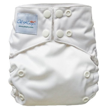 Oh Katy One Size Pocket Diaper, Pearl