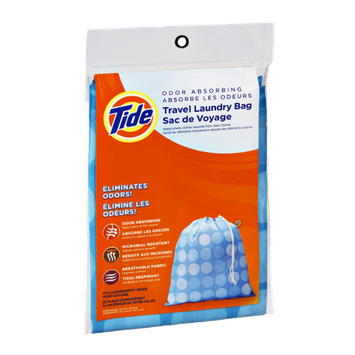 Tide Odor Absorbing Travel Laundry Bag