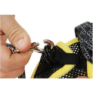 EGR AISS S YE Small Harness and Leash- Yellow