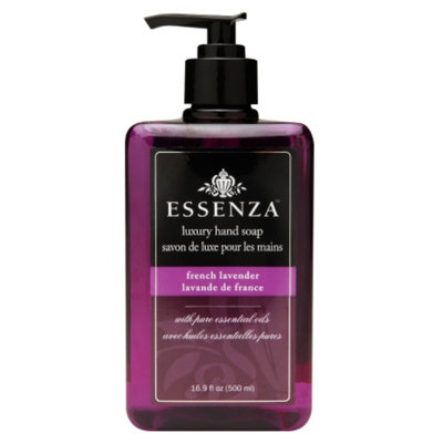 Essenza Luxury Hand Soap, French Lavender, 16.9 fl oz