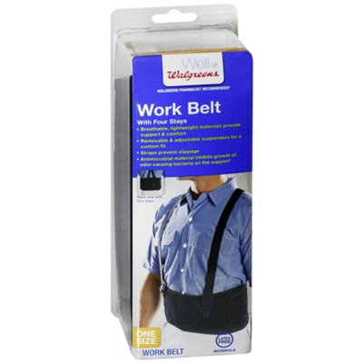 Walgreens Workbelt, One Size, 1 ea