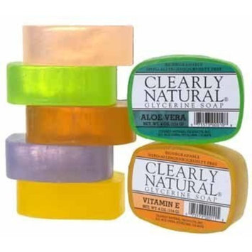 Clearly Natural Soap Clearly Natural Glycerine Bar Soap Cucumber - 4 oz