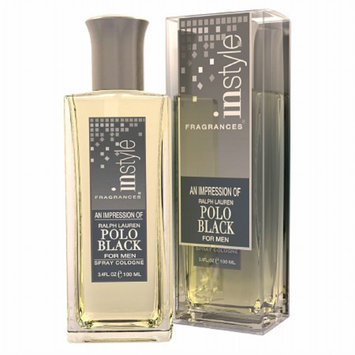 Instyle Fragrances An Impression Spray Cologne for MenPolo Black