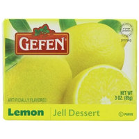 Gefen Jello Lemon, 3-Ounce (Pack of 24)