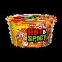 Nissin Bowl Noodles Hot & Spicy Chicken Noodle Soup