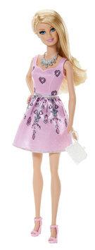 Barbie Fashionista Barbie Doll, Light Pink Dress - 1 ct.