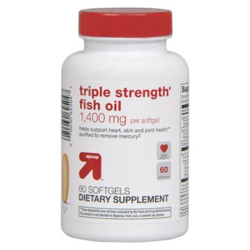 up & up up&up Triple Strength Fish Oil 1400 mg - 60 Count