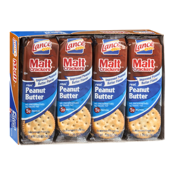 Lance Malt Crackers Peanut Butter - 8 CT
