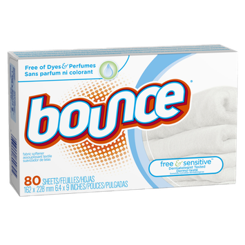 Bounce Free Fabric Softener Sheets 80 Count