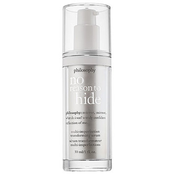 philosophy no reason to hide multi-imperfection transforming serum, 1 fl oz
