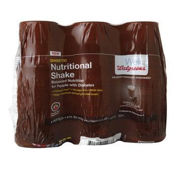 Walgreens Nutritional Diabetic Shake Chocolate