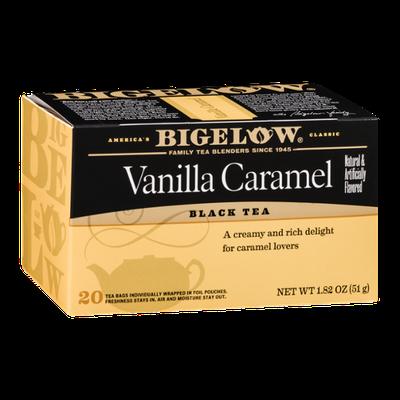 Bigelow Black Tea Vanilla Caramel - 20 CT