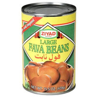 Ziyad Beans Fava Large (Bagilla), 15-Ounce (Pack of 6)