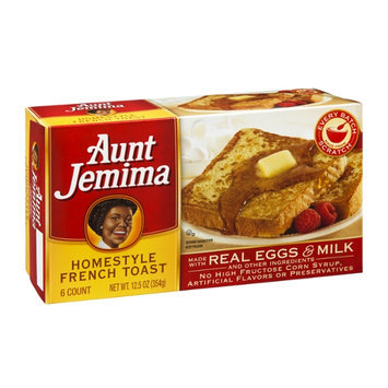 Aunt Jemima French Toast Homestyle - 6 CT