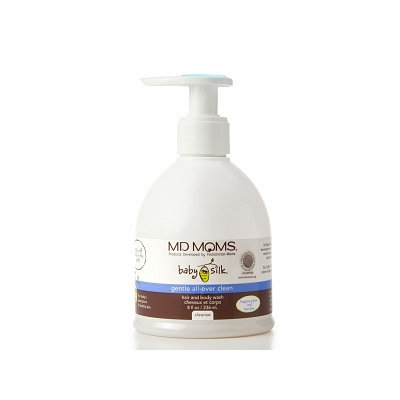 MD MOMS Baby Silk Gentle All-Over Clean Hair and Body Wash