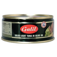 Galil Tuna Fish in Extra Virgin Olive Oil, 5.5-Ounce Cans (Pack of 8)