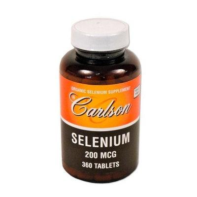 Carlson Labs Selenium, 200mcg, 360 Tablets