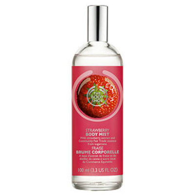 The Body Shop Body Mist, Strawberry, 3.38 fl oz