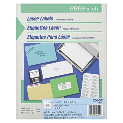 Avery Pres-A-Ply Laser Address Labels