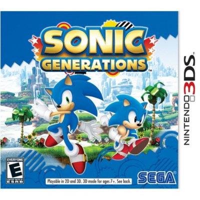 Sega Sonic Generations (Nintendo DS)