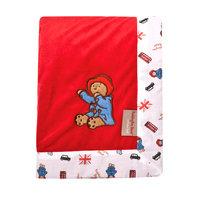 Trend Lab Llc Trend Lab Paddington Bear Red Receiving Blanket