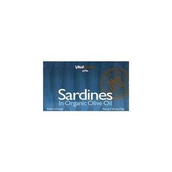 Vital Choice Sardines in Ev Olive Oil 4.375 oz Can