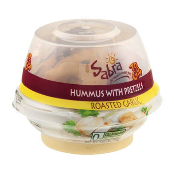 Sabra To Go Hummus with Pretzels Roasted Garlic