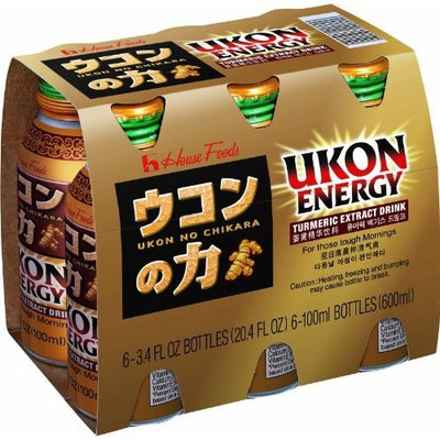 House Foods Ukon Energy Drink 6-Pack