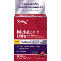 Schiff Melatonin Ultra Dietary Supplement Tablets