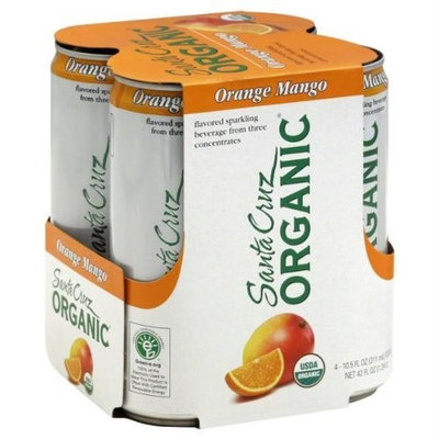 Santa Cruz Organics Santa Cruz Organic Orange Mango Flavored Sparkling (6x4 Pack)