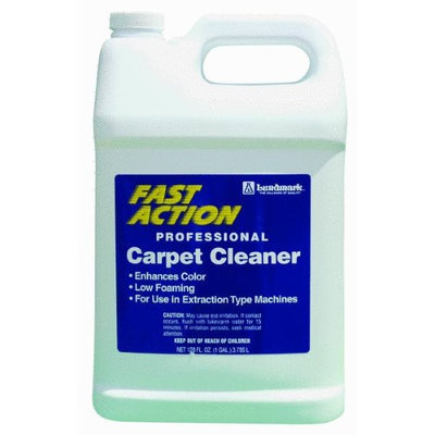 Fast Action Carpet Cleaner 128 Ounce REN6233G012 by Lundmark Wax