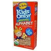 Deboles Organic Kids Only Alphabet Pasta 9.25 oz. (Pack of 12)