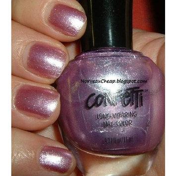 Confetti Purple Pizzazz Nail Color 073