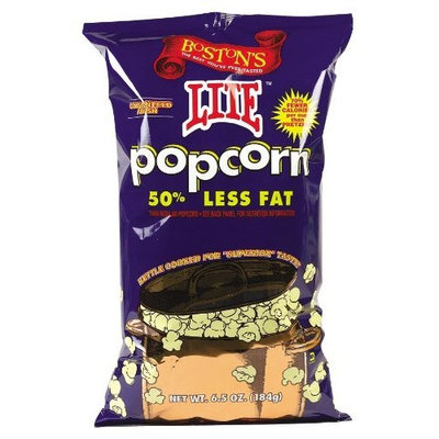 Boston Popcorn Lite Popcorn 6.5 oz. (Pack of 12) ( Value Bulk Multi-pack)