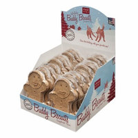 Cloud Star XXL Holiday Buddy Biscuits Dog Treats - Gingerbread, 3.9 oz