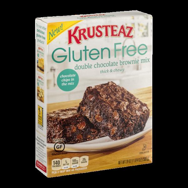 Krusteaz Gluten Free Brownie Mix Double Chocolate
