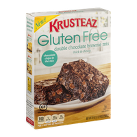 Krusteaz Gluten Free Brownie Mix Double Chocolate