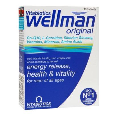 Vitabiotics Wellman Original Energy Release, Health & Vitality, Tablets