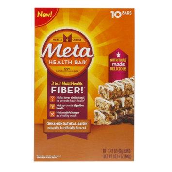 Metamucil Meta Cinnamon Oatmeal Raisin Bar - 10 Count