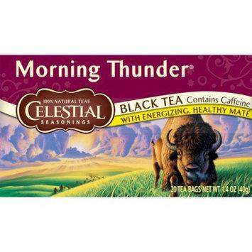 The Hain Celestial Group, Inc. Celestial Seasonings Morning Thunder Black Tea 20 ct, 6 pk