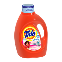 Tide with Touch of Downy HE April Fresh Scent Liquid Laundry Detergent 100 Fl Oz