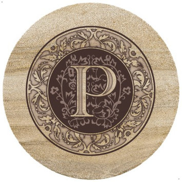 ThirtyStone Coasters Monogram P Trivet