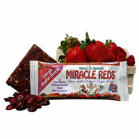 MacroLife Naturals Miracle Red Bar Very Berry Case of 12 42 Grams