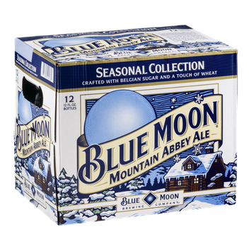 Blue Moon Seasonal Collection Mountain Abbey Ale - 12 CT
