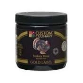 Custom Culinary Gold Label Base Turkey, 1 Pound