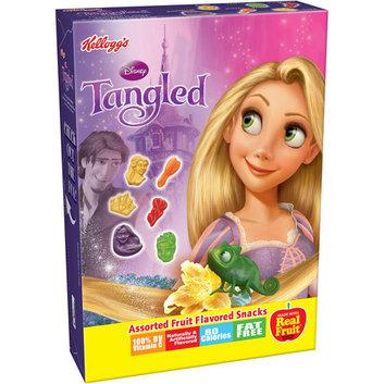 Kellogg's Disney Tangled Assorted Fruit Flavored Snacks