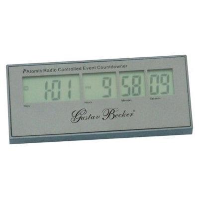 Kirch LCD Radio Controlled Countdown Digital Clock